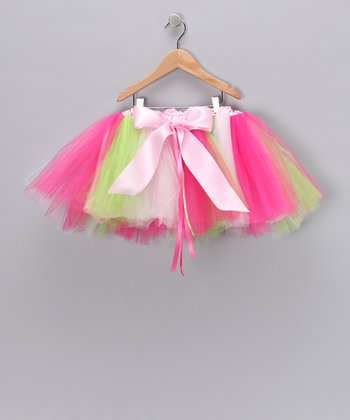 Pink Sweet Pea Tutu - Toddler & Girls