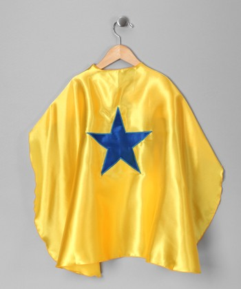 Yellow & Blue Star Cape