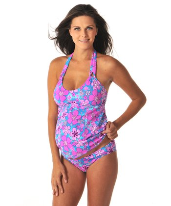 Prego Summer Fun Skinny Mini Maternity Tankini