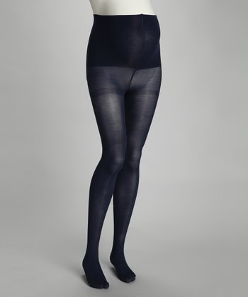 Cobalt Maternity Compression Tights