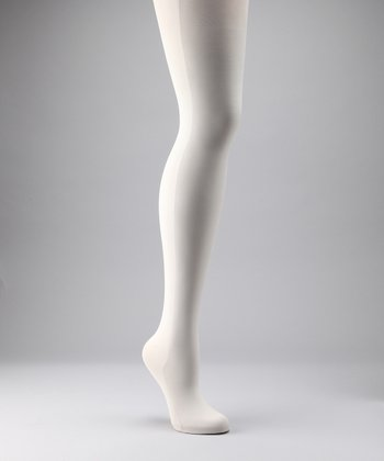 Preggers Winter White Maternity Compression Tights