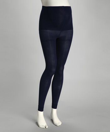 Cobalt Maternity Compression Footless Tights