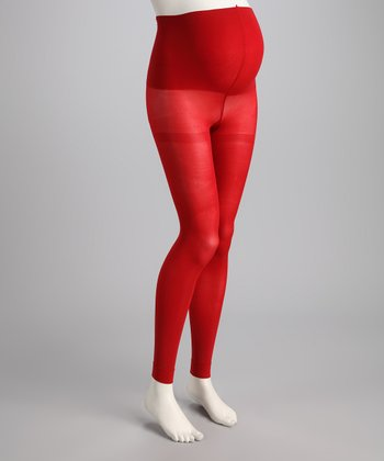 Poppy Maternity Compression Footless Tights