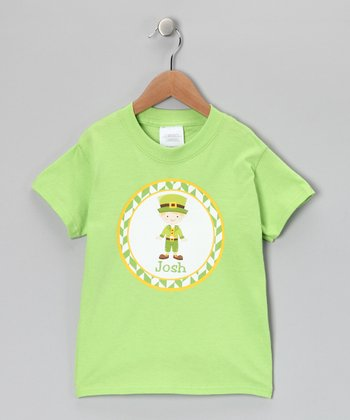 Lime Blonde Boy Personalized Tee - Infant, Toddler & Boys