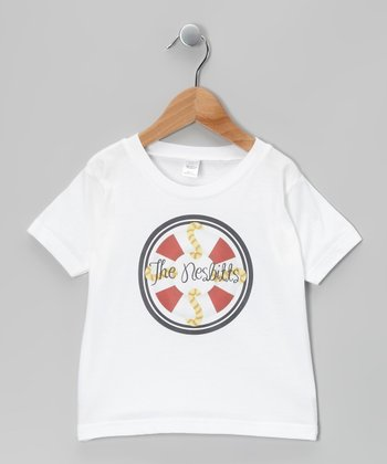 White Life Preserver Personalized Tee - Infant, Toddler & Kids