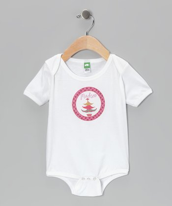Pink Tree Personalized Bodysuit - Infant