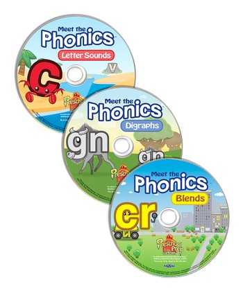 Meet the Phonics DVD Set