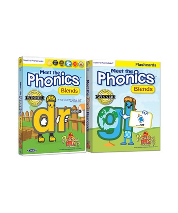 Phonics Blends DVD & Flash Cards