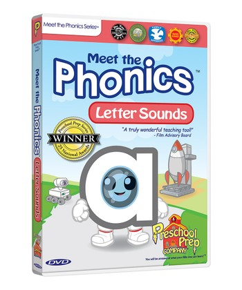 Meet the Letter Sounds DVD
