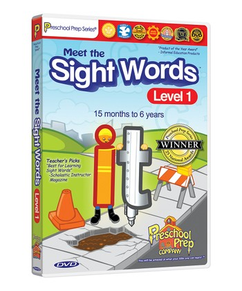 Meet the Sight Words 1 DVD
