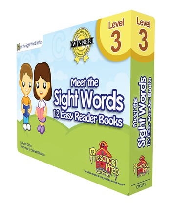 Meet the Sight Words Easy Reader Level 3 Book Set