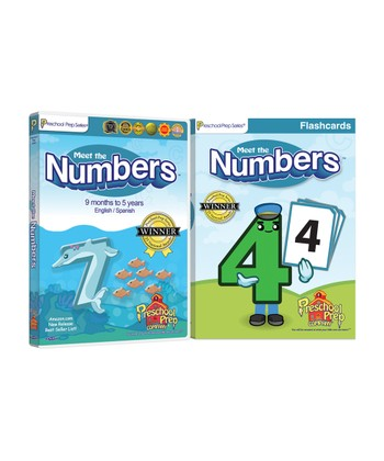 Meet the Numbers DVD & Flash Card Set