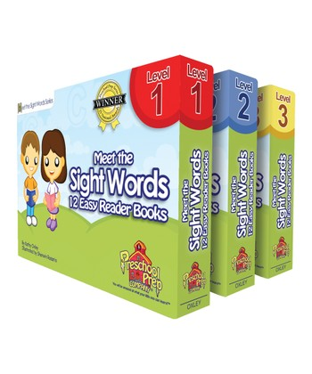 Meet the Sight Words Easy Reader Book Pack