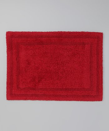 Claret Reversible Bath Mat