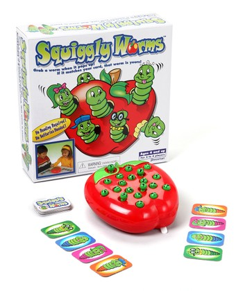 Pressman Toy Squiggly Worms Game