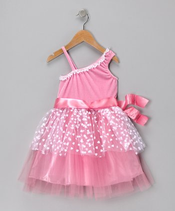Pink Sweet Fantasy Dance Dress