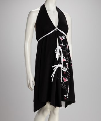 Black & White I Dream of Cosmos Delivery Gown