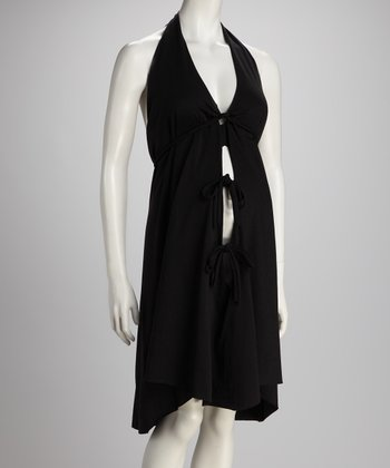 Black Delivery Gown - Women