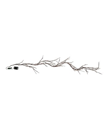 Brown Willow Twig Light Garland