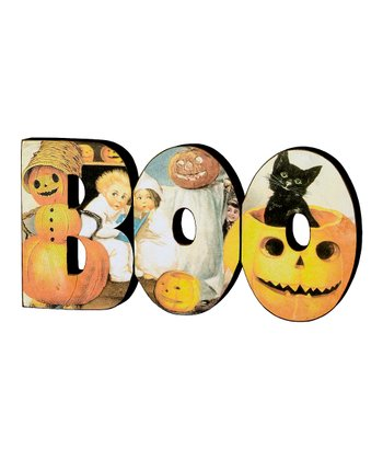 'Boo' Word Block
