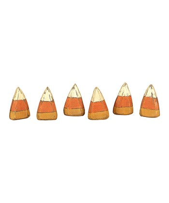 Wood Candy Corn Set