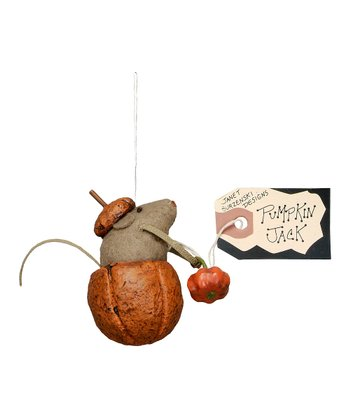 Pumpkin Jack Mouse Ornament