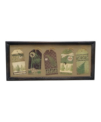 Brown Large Nature Tag Wall Hanging
