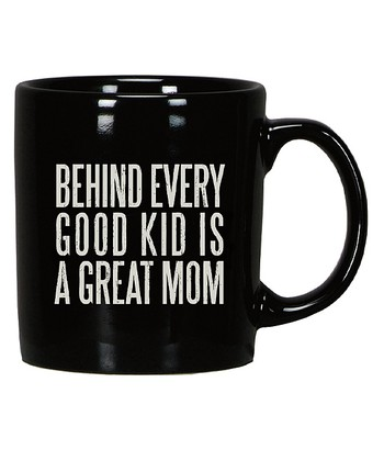 Black & White 'Great Mom' Mug