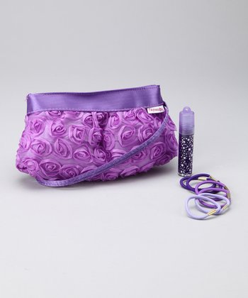 Lilac Rose Clutch Set