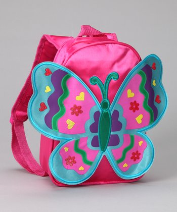 Fuchsia Wing Backpack