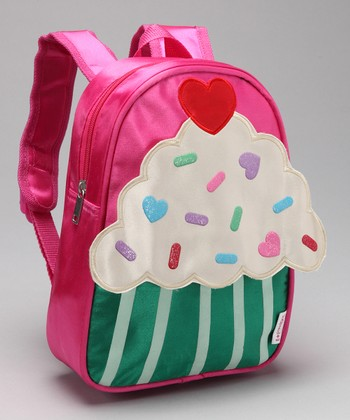 Fuchsia Cupcake Backpack