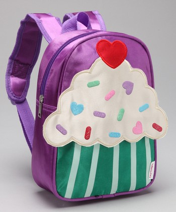 Lilac Cupcake Backpack