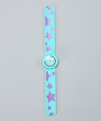 Turquoise Star Slap Watch