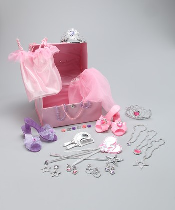 Pink Princess Dress-Up Treasure Set
