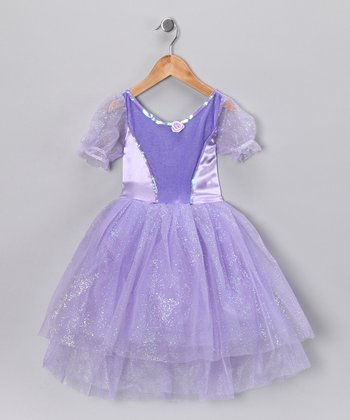 Lilac Shimmer Princess Dress - Toddler & Girls