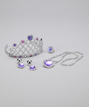 Purple Princess Tiara Set