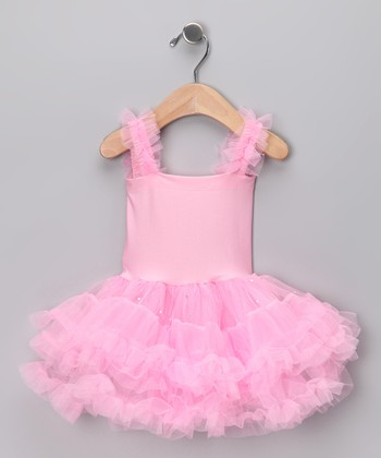 Light Pink Tutu Dress - Toddler & Girls