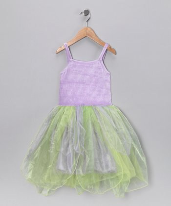Lilac & Mint Fairy Dress - Toddler & Girls
