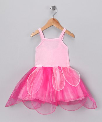 Pink & Fuchsia Fairy Dress - Toddler & Girls