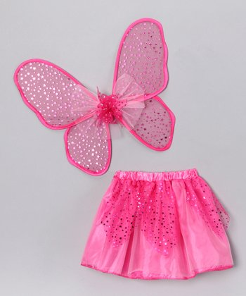 Fuchsia Star Tutu & Wings