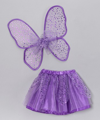 Lilac Star Tutu & Wings