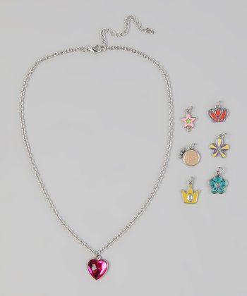 Heart 7-Day Charm Necklace Set