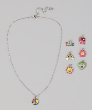 Peace Seven-Day Charm Necklace Set