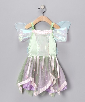 Green Dress & Wings - Infant