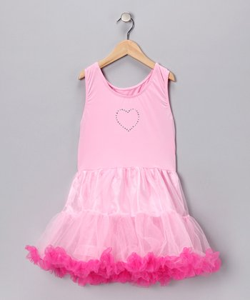 Pink Sparkle Tutu Dress - Toddler & Girls