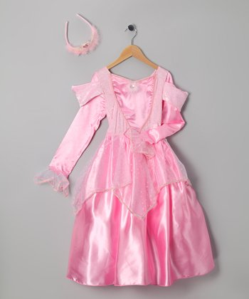 Pink Beauty Princess Outfit - Girls