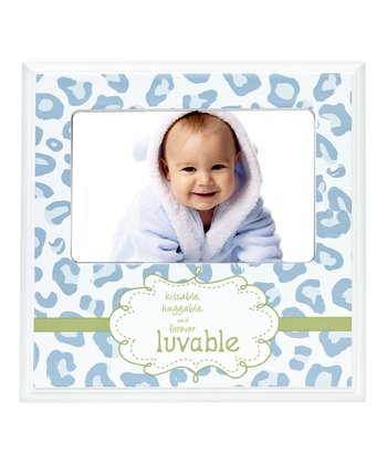 Blue Leopard 'Luvable' Frame