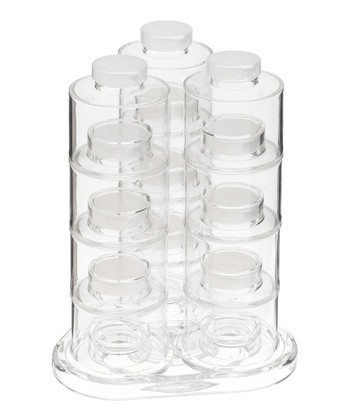 Tower Carousel 12-Bottle Spice Rack