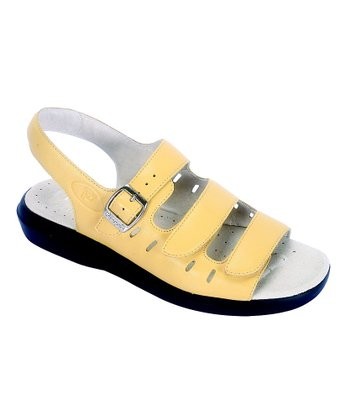 Sunshine Yellow Breeze Sandal