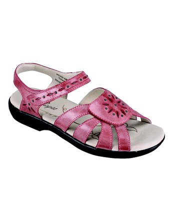 Marsala Rebel & Pewter Tobago Leather Sandal